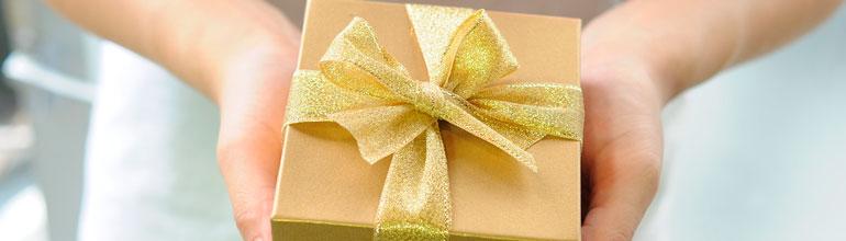 deducción de los regalos de Navidad